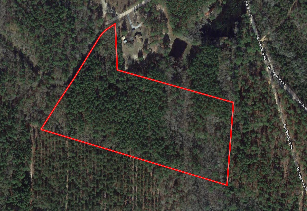 Secluded 13 Acre Homesite in Statesboro, GA