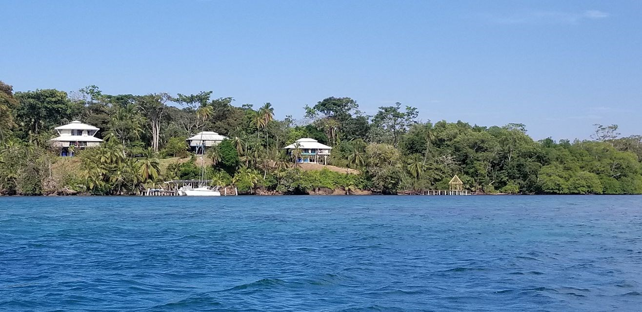 2 Amazing Oceanfront Coastal Homes on Isla Cristobal, Panama