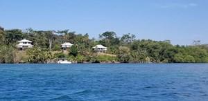 2 AMAZING OCEANFRONT COASTAL HOMES ON ISLA CRISTOBAL, PANAMA