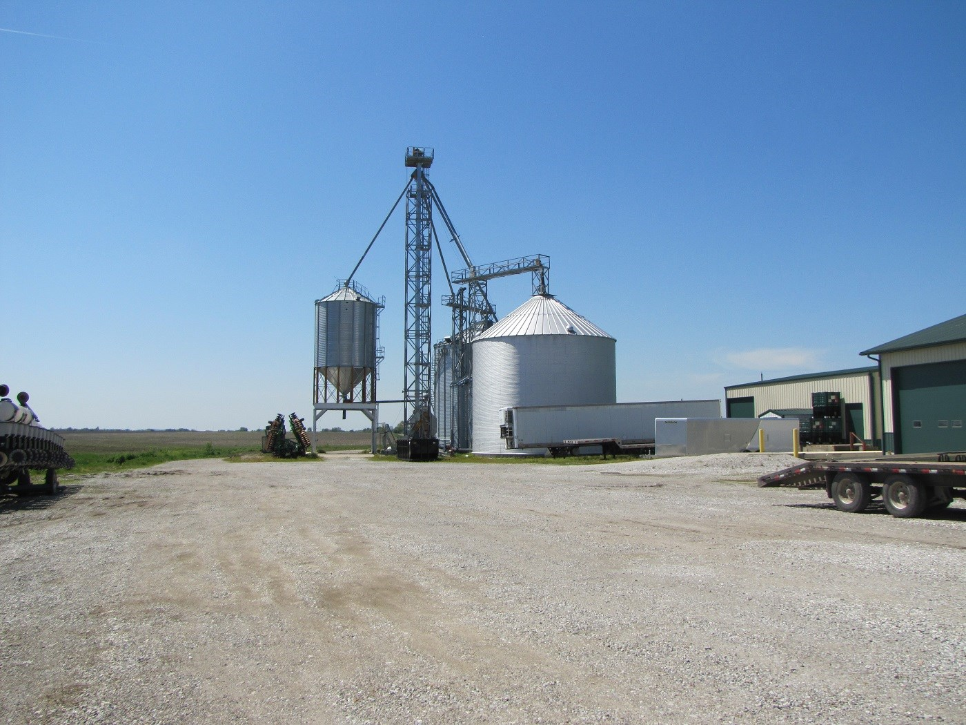 NORTHERN MO GRAIN FACILITY, FARMLAND FOR SALE, GRAIN STORAGE