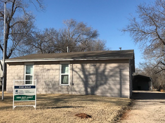 One Bedroom Home for Sale in Alva, OK (Woods Co)