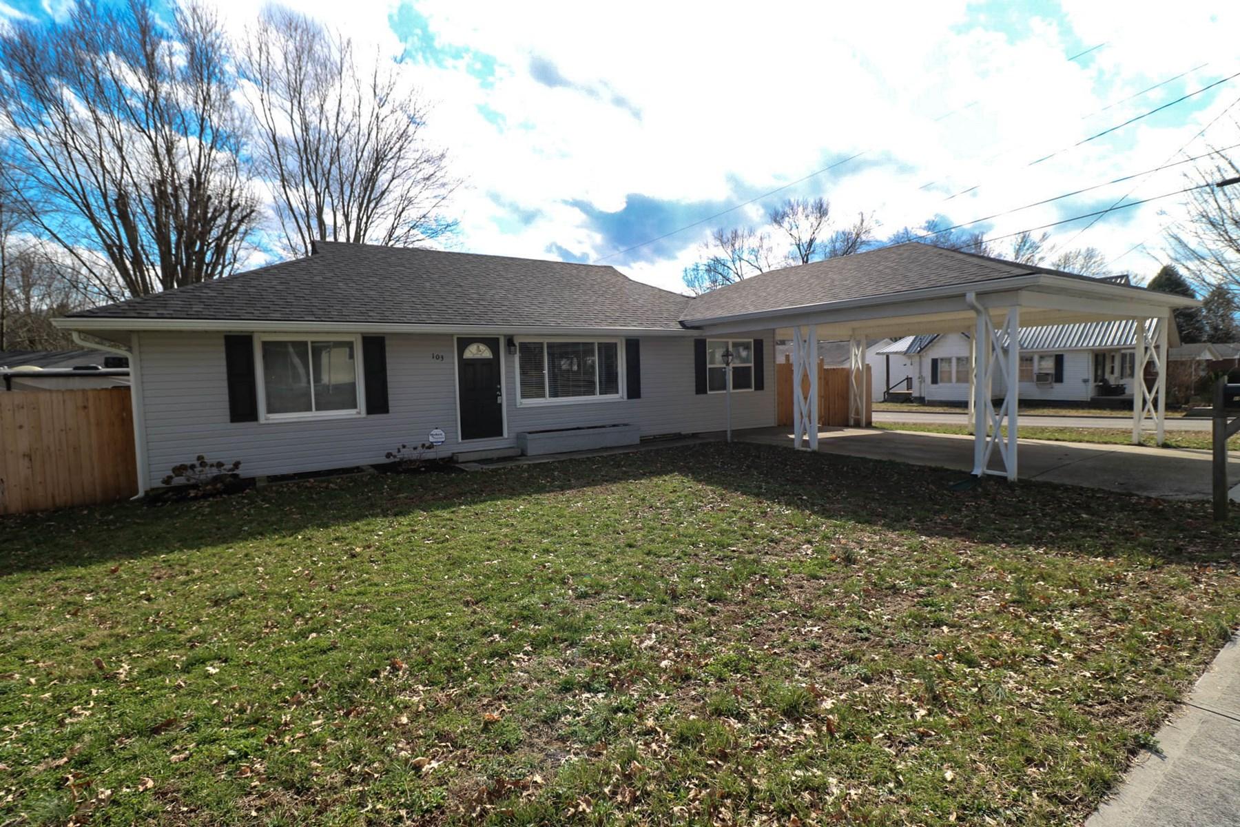 Home in town for Sale 103 Kentucky Av. Somerset KY