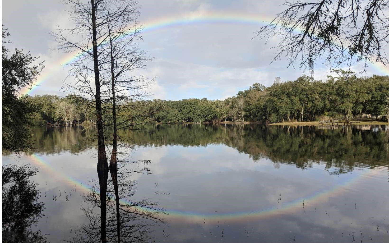 Great location to access the deep end of the Suwannee River
