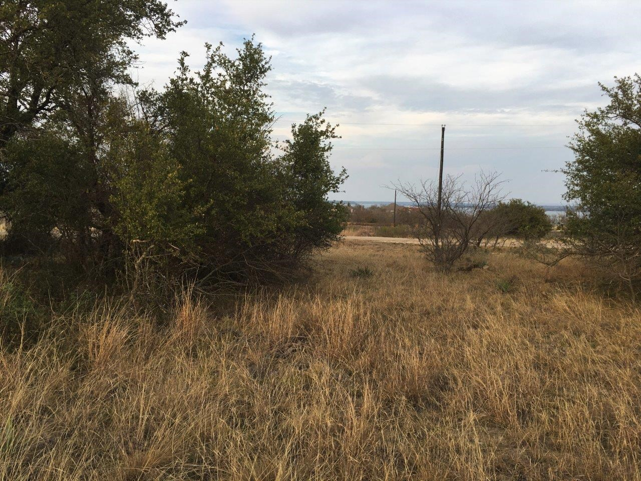 Homesite in Kings Point Cove with view of Lake Brownwood TX