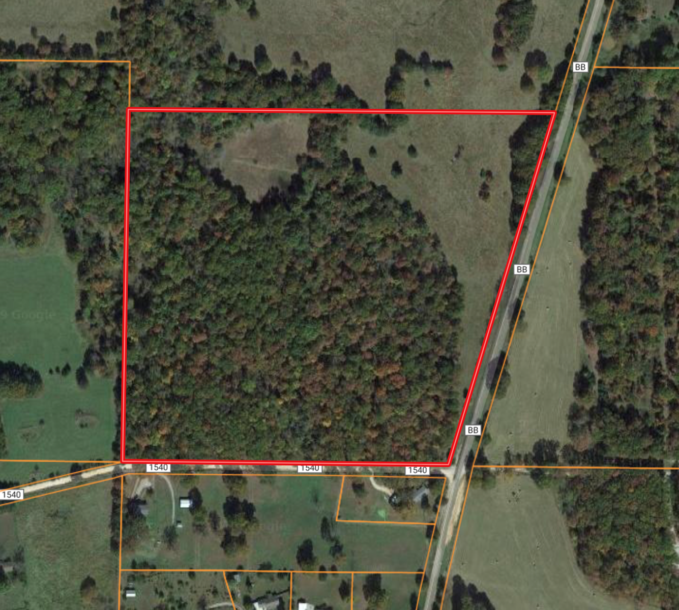 Acreage for Sale in West Plains with Access to Rural Water