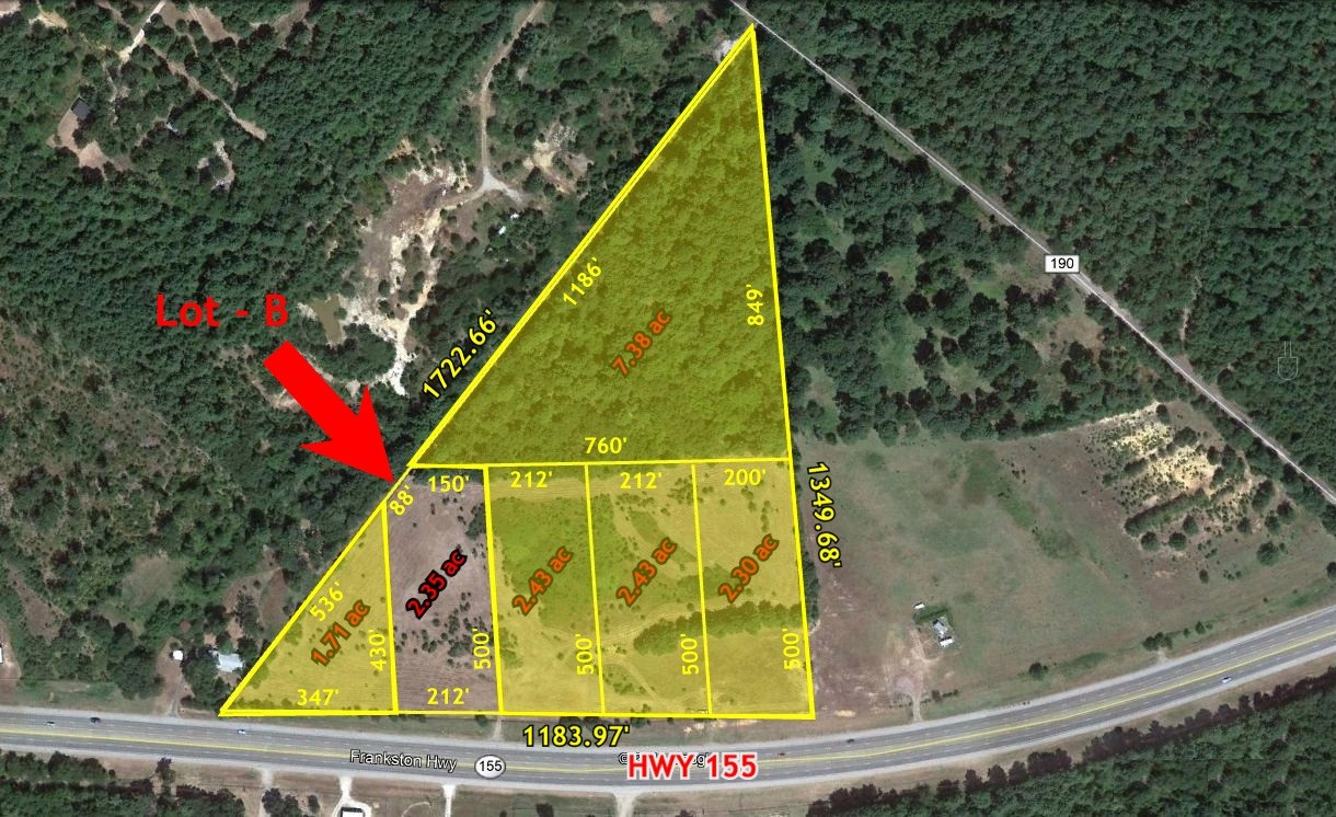 GREAT COMMERCIAL LAND PARCELS ON HWY 155