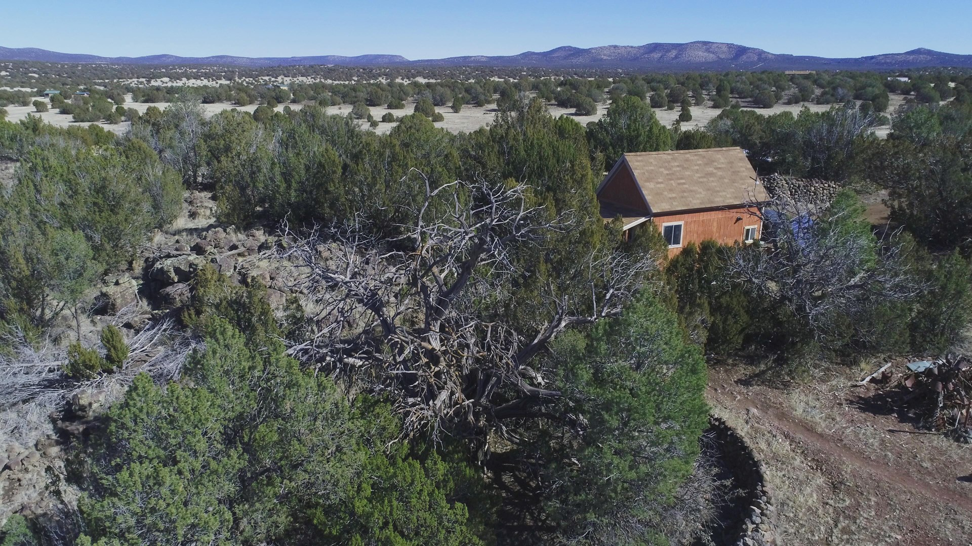 Remote, Off-grid, Cabin on Creek for Sale Seligman AZ