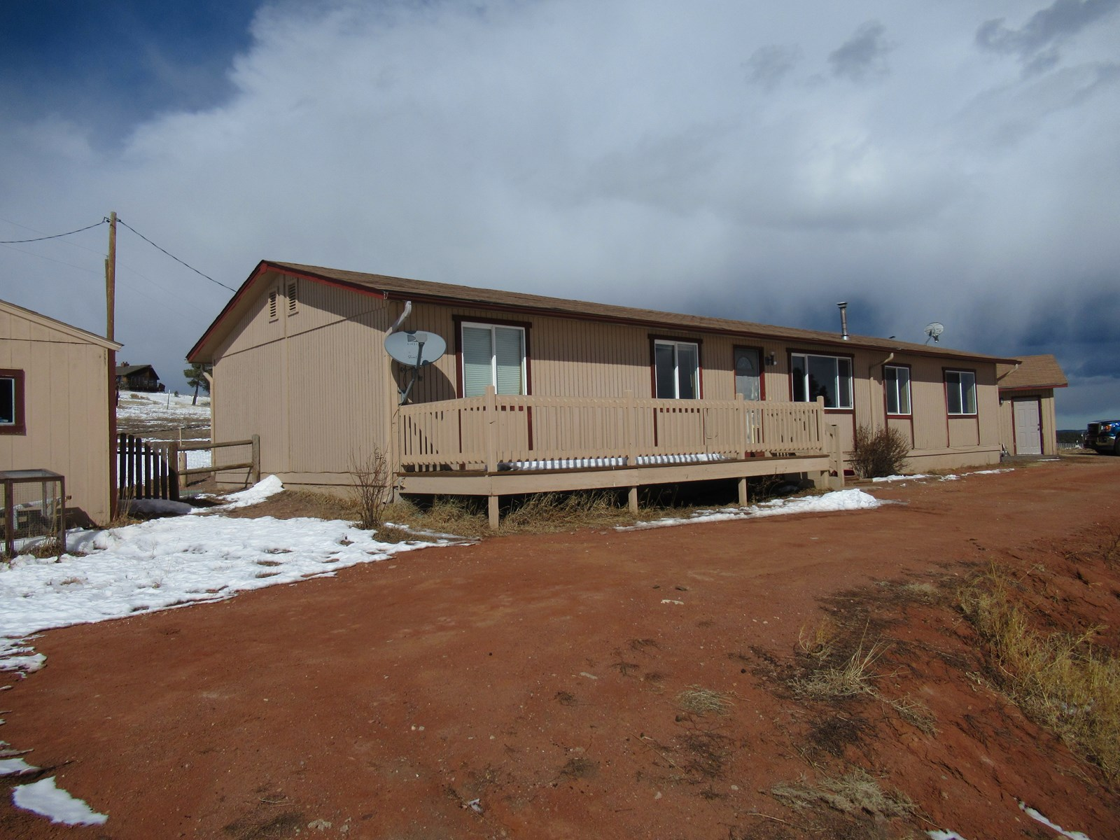 Divide Colorado Mountain Home with Pikes Peak View 2.7 Acres