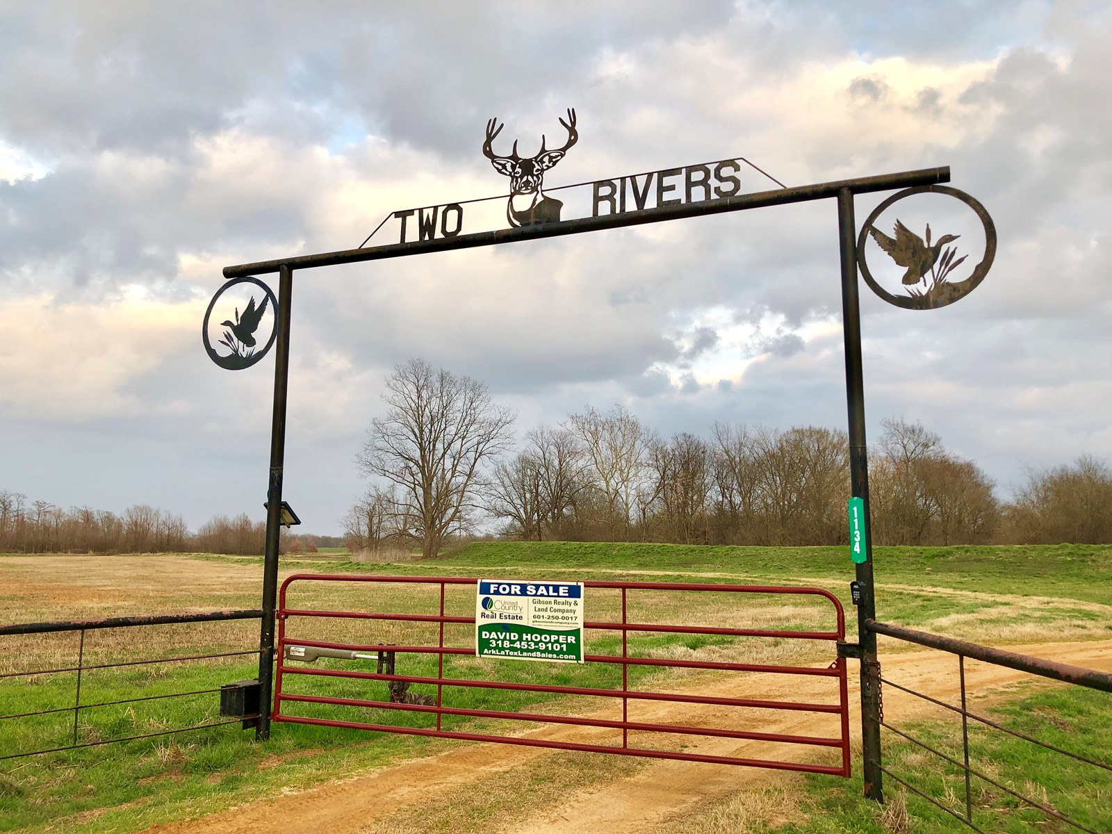 TURNKEY DUCK/DEER ACREAGE, MILLER COUNTY, ARKANSAS