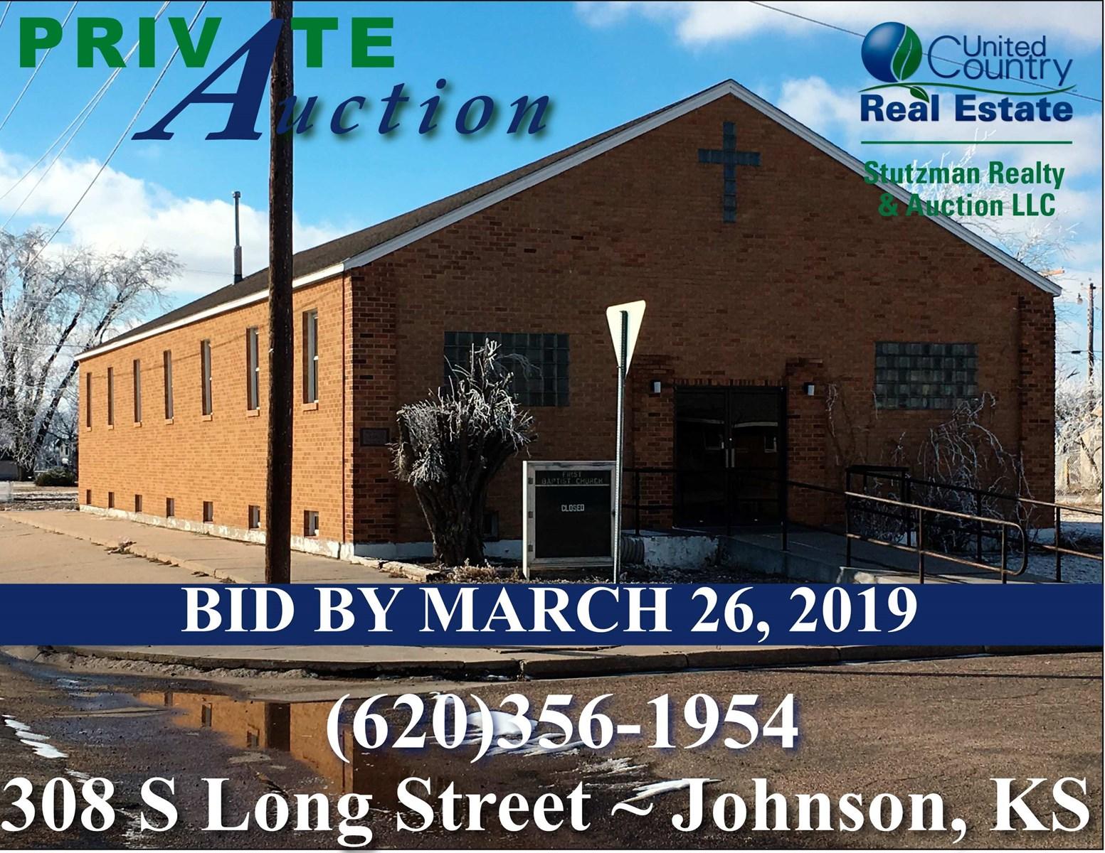 PRIVATE AUCTION - 308 S LONG, JOHNSON, KANSAS