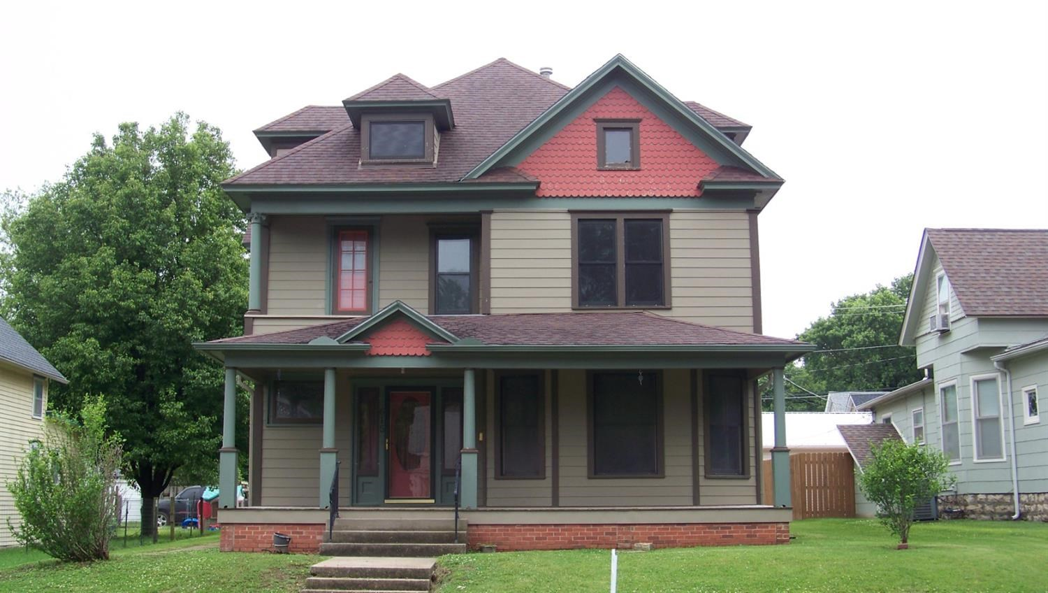 Historic Home for sale in Chanute Kansas