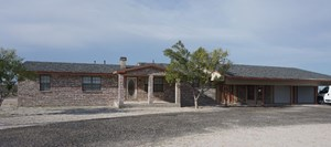 UP TO 10 ACRES 4 BEDROOM 2 BA COUNTRY HOME FT STOCKTON, TX