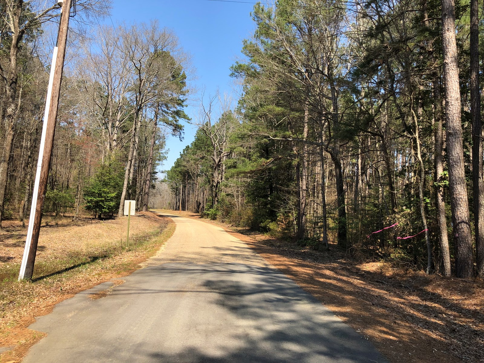 Rural Home Site Lot with Pond For Sale West of Camden, AR