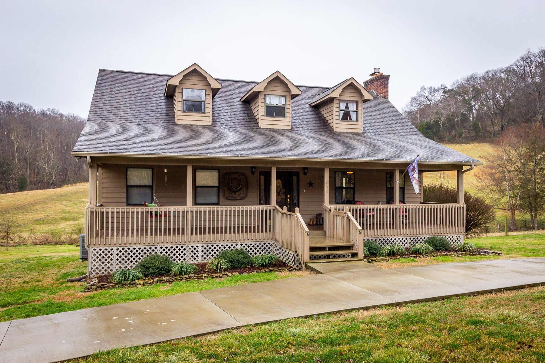 East Tennessee Country Home and Acreage for Sale Hamblen Co