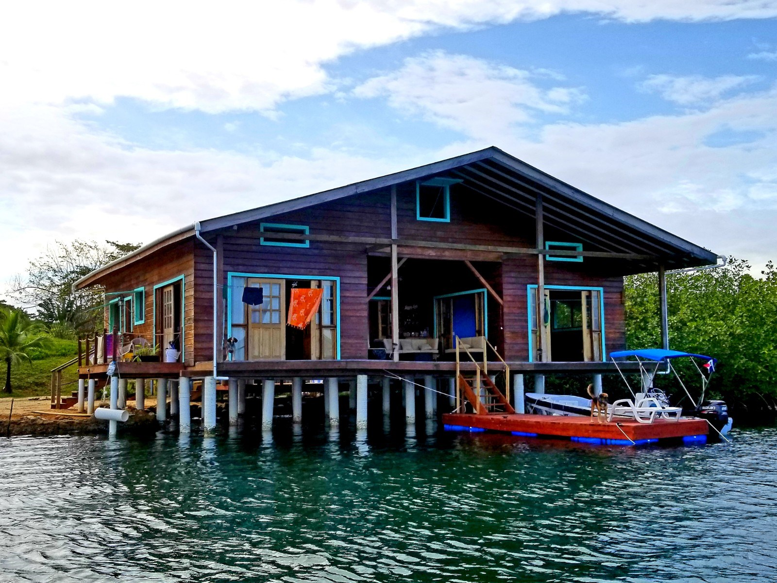Over the Sea Home on YOUR OWN ISLAND Bocas del Toro Panama