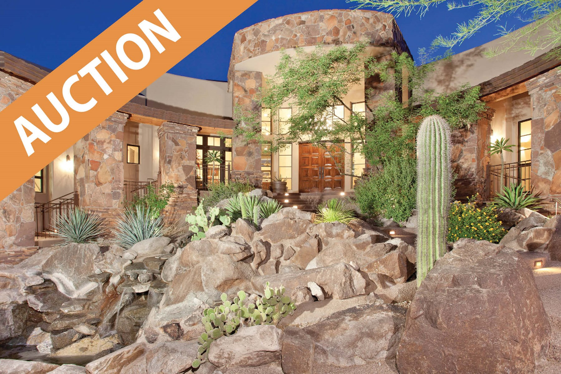 AHWATUKEE PHOENIX AZ MOUNTAIN HOME FOR SALE AT AUCTION