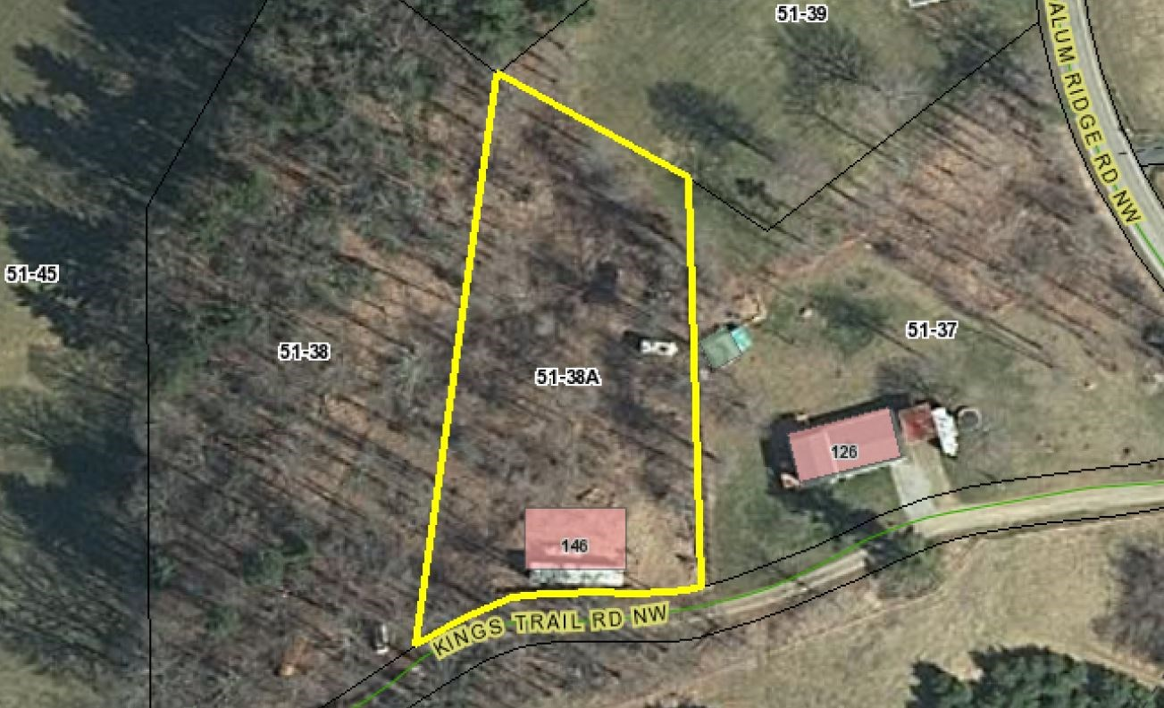 Wooded Building Lot in Willis VA for Sale