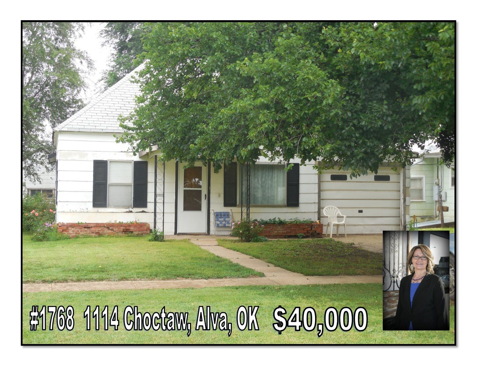 2 Bedroom Home for Sale Close to Middle School Alva OK