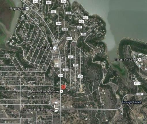 PRIME COMMERCIAL LOCATION AT LAKE BROWNWOOD TX