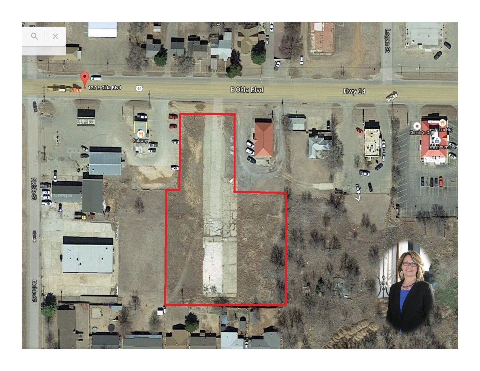 Vacant Commercial Lot for Sale in College Town!