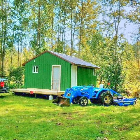 Rustic Cabin with 40- Wooded Acres and 2 Streams for sale