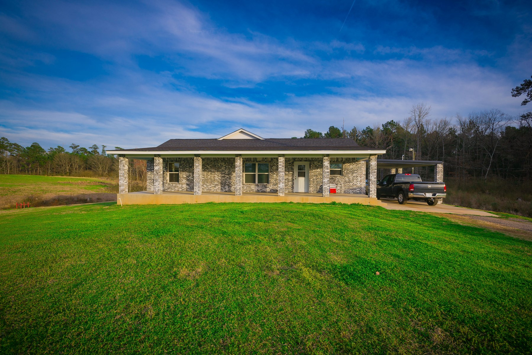 Country Home With Land outside of Nacogdoches TX Cushing ISD