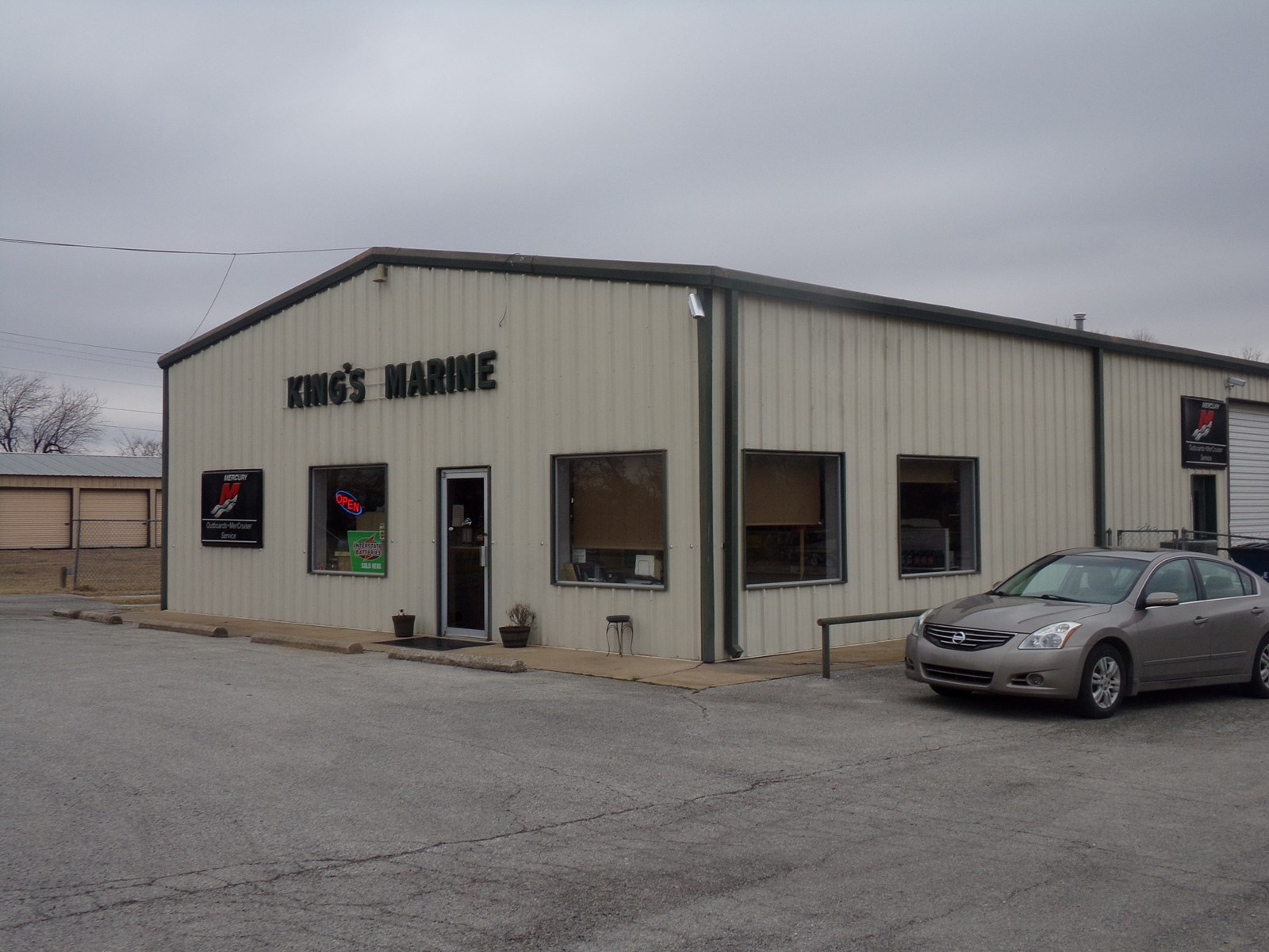 Boat and Storage Building for sale