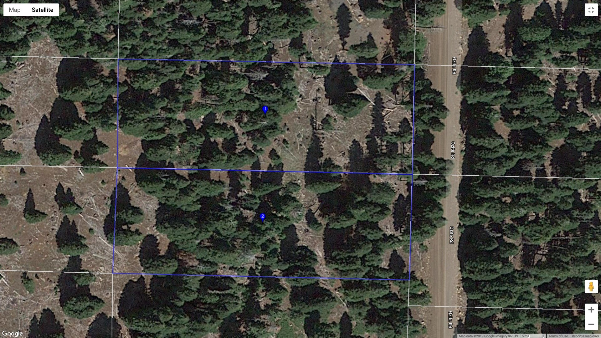 1.82 acres in the Pines of Modoc County, Northern California