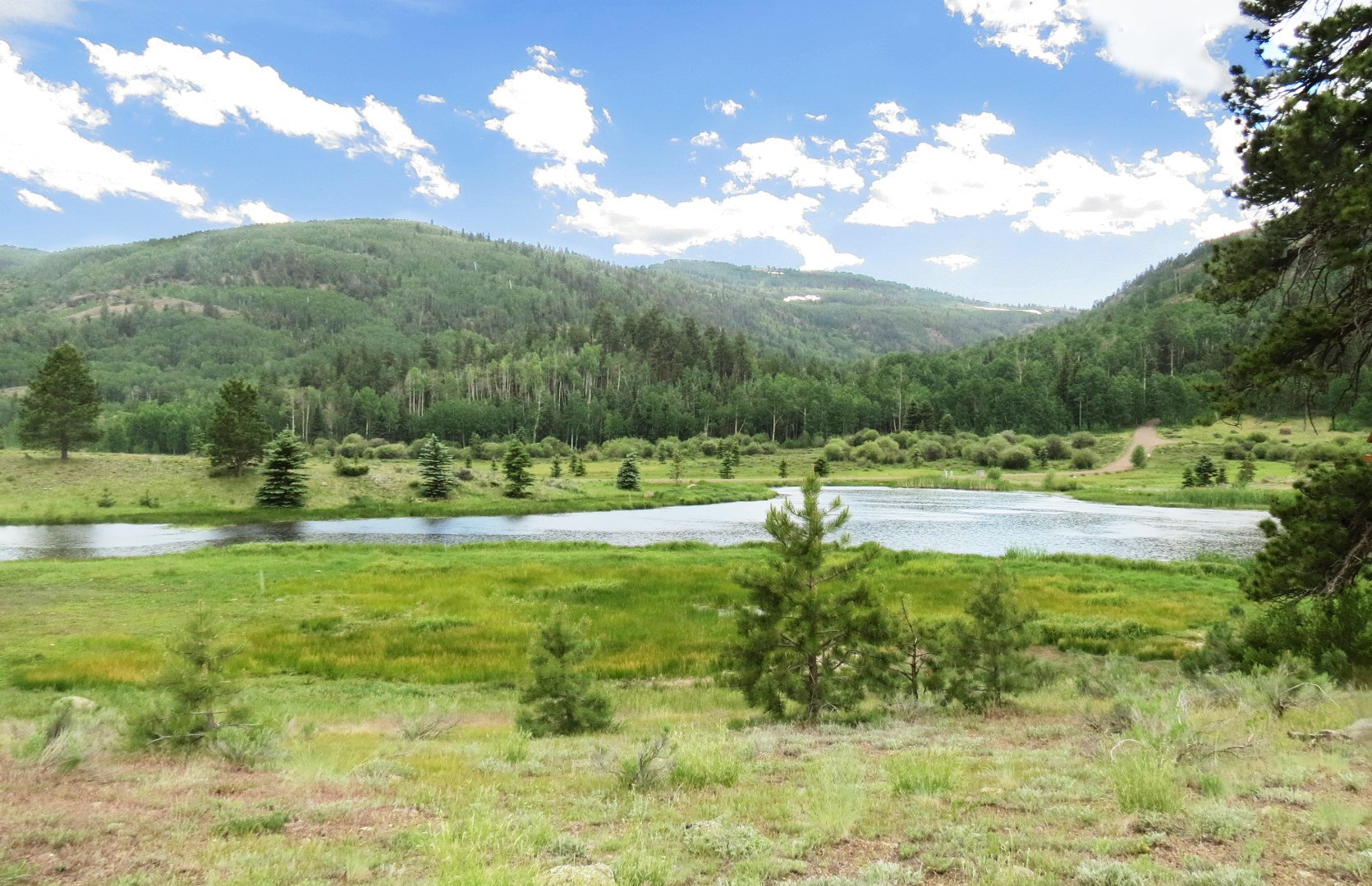 Mtn Land For Sale in Colorado, Gated Community, Fly Fishing
