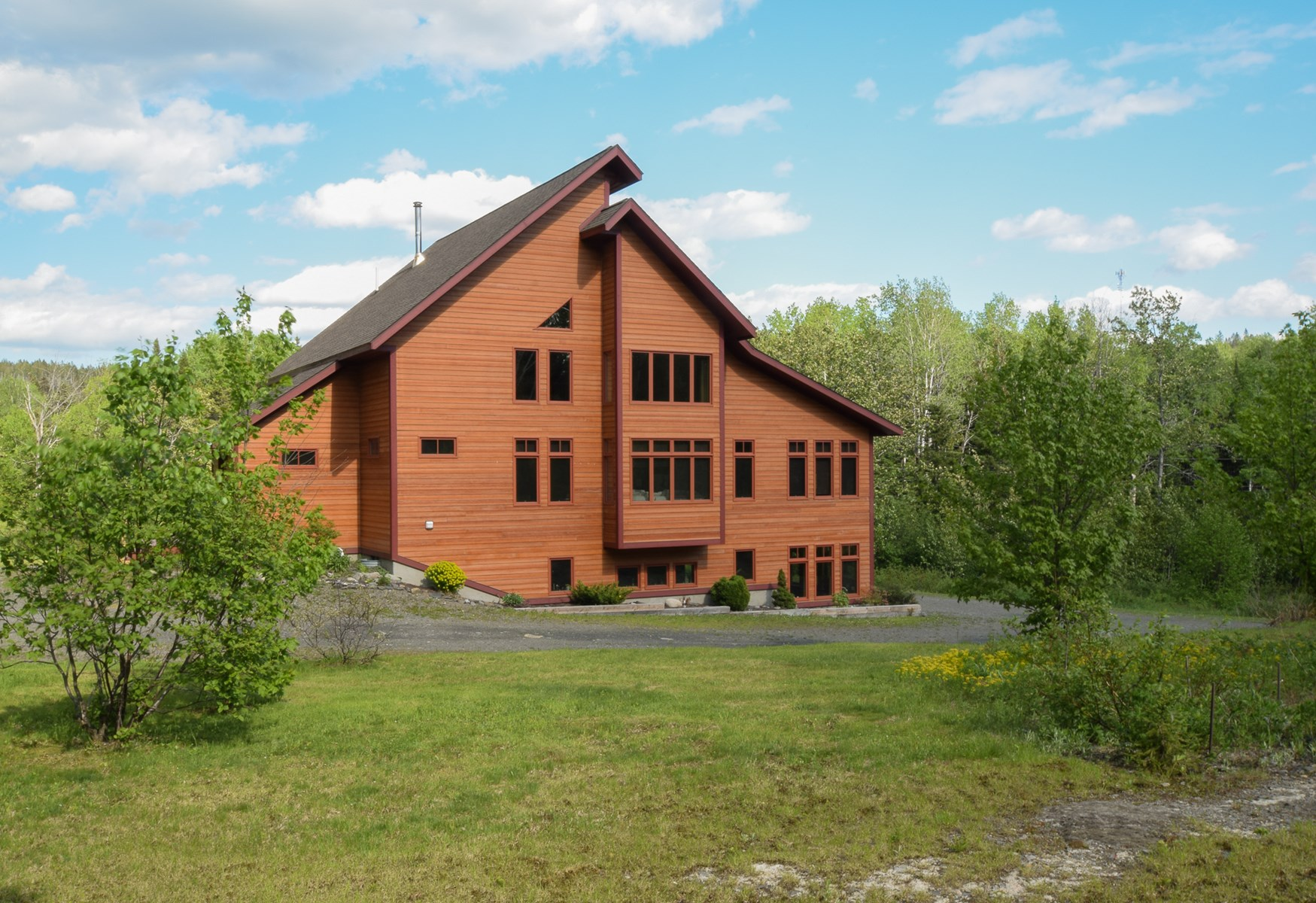 Maine Contemporary Country Home for Sale - Fort Kent, Maine