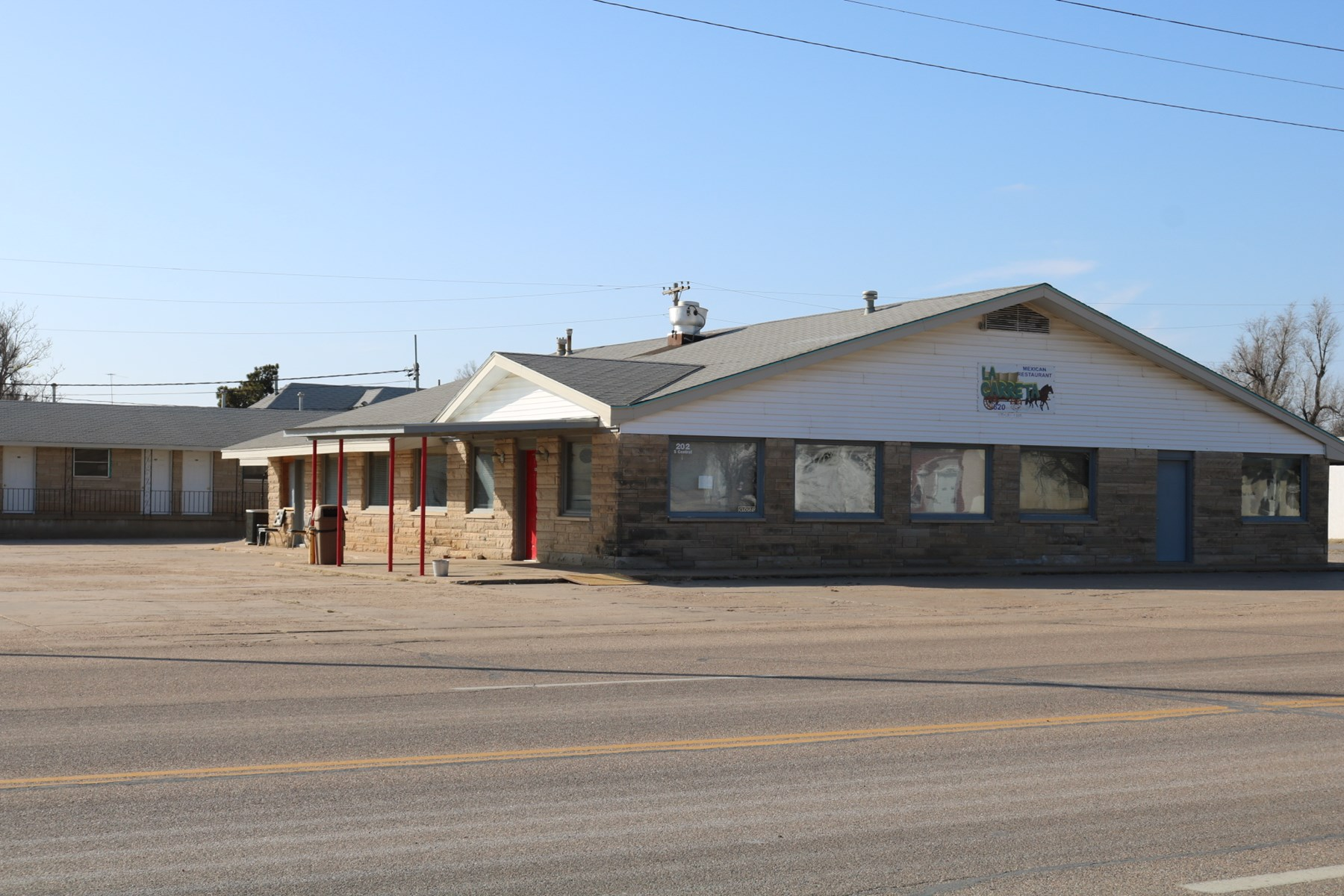Restaurant & Motel For Sale Coldwater, Comanche County, KS