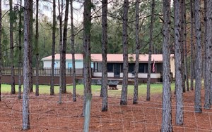 WELCOME HOME! 4 BEDROOM/2BATH DOUBLEWIDE ON 5 FENCED ACRES.