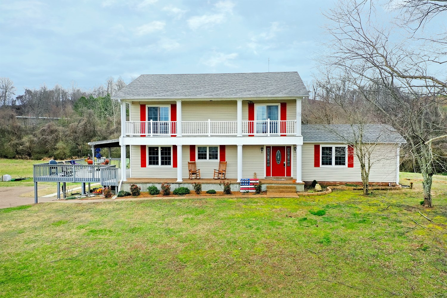 Country Home For Sale - Serene Views - Commanding Hilltop