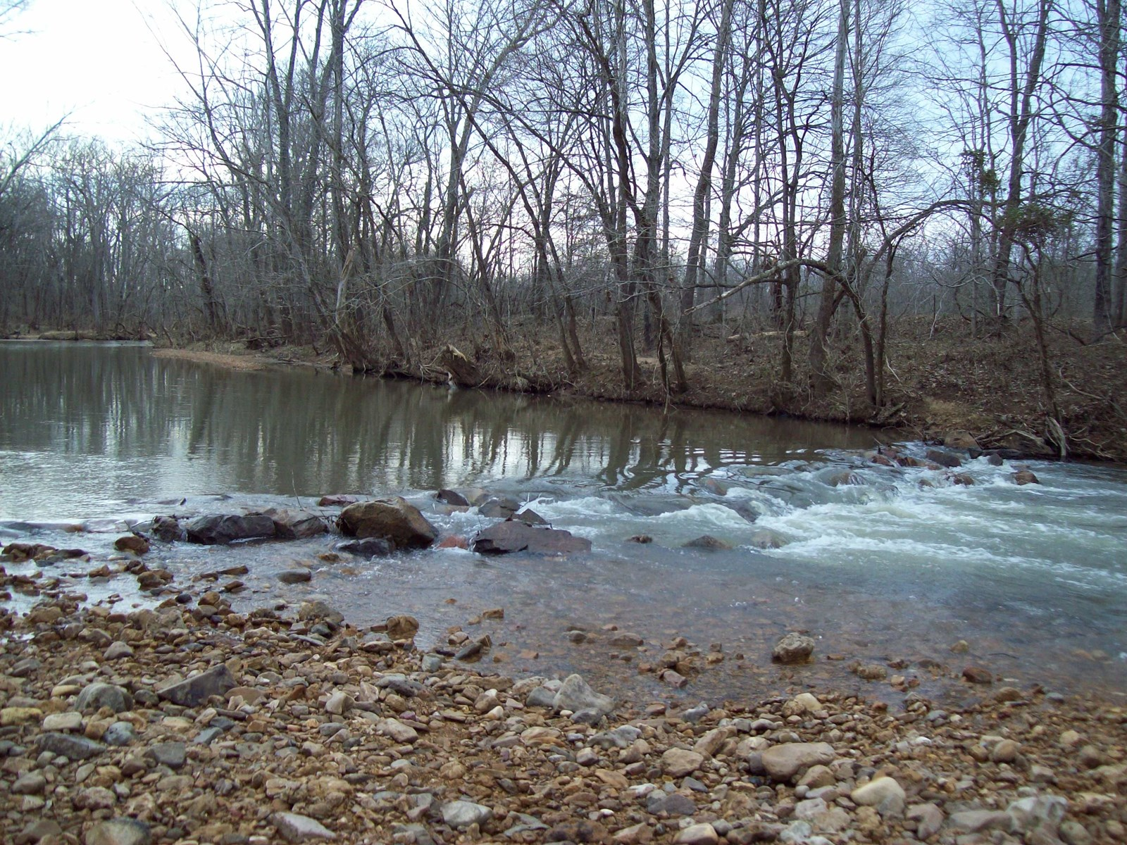 Acreage on Clark's Creek at Patterson, Mo.