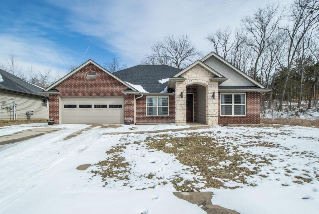 3 BR, 2.5 BA, 2 Car Garage Split Bedroom Design Columbia MO