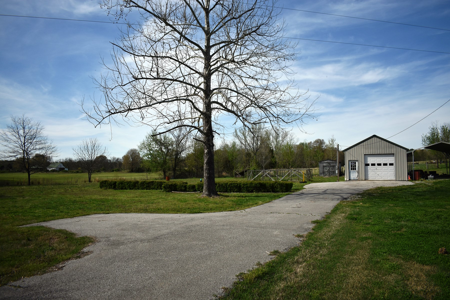 Mobile Home or Building Lot for Sale - Water & Septic & Shop