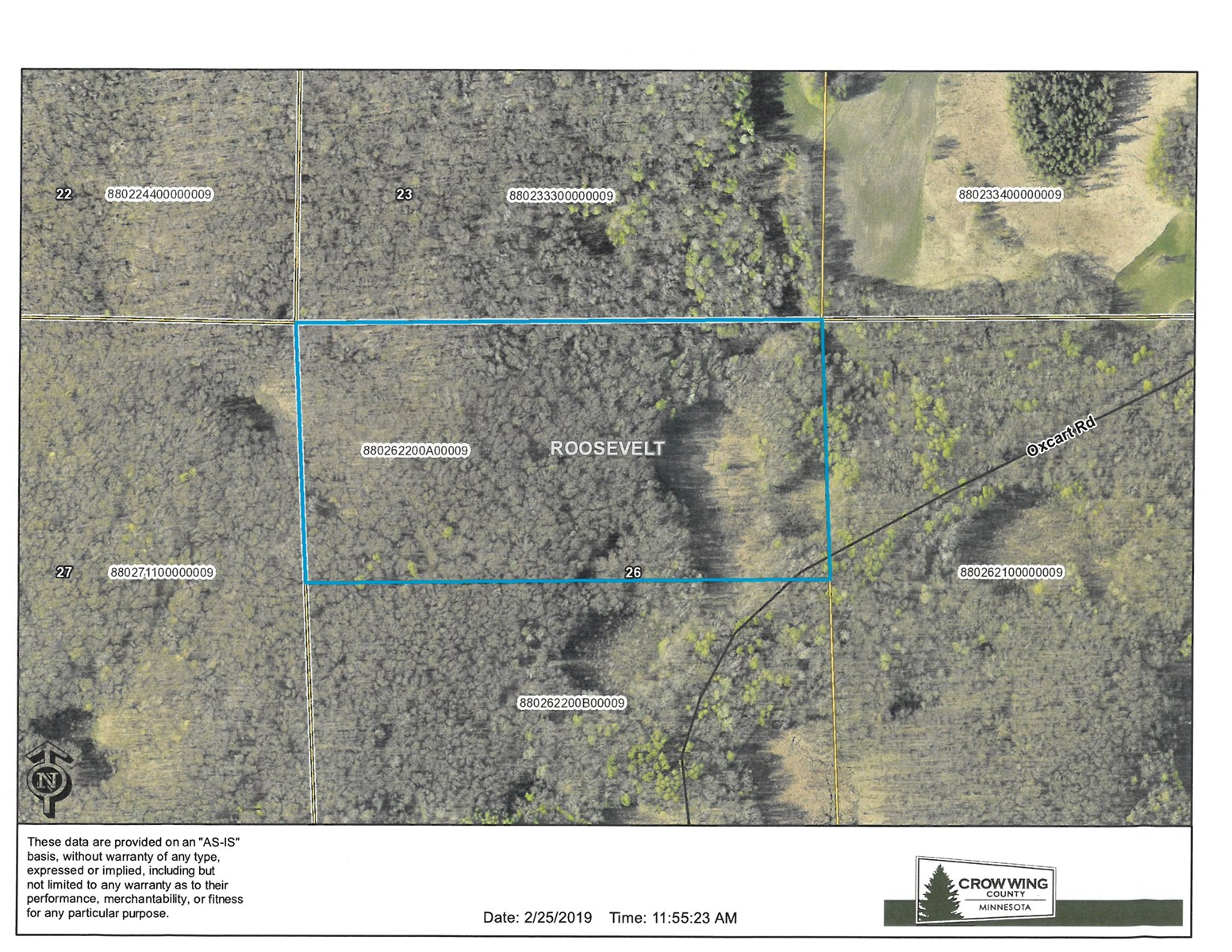 Crow Wing County Hunting Land For Sale