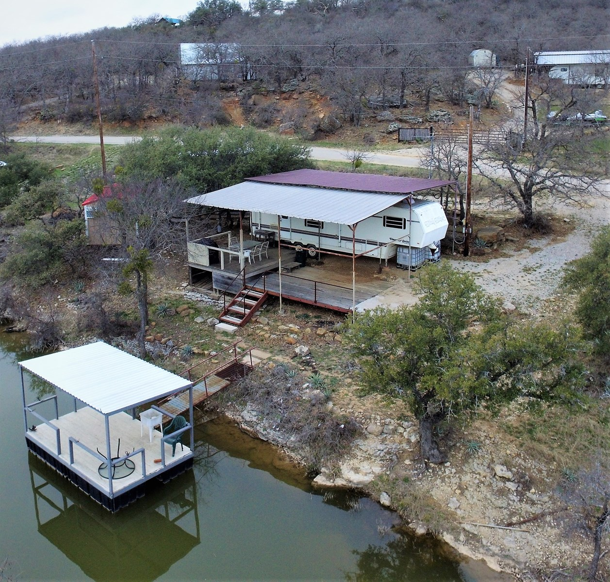 WATERFRONT LOT AT LAKE BROWNWOOD