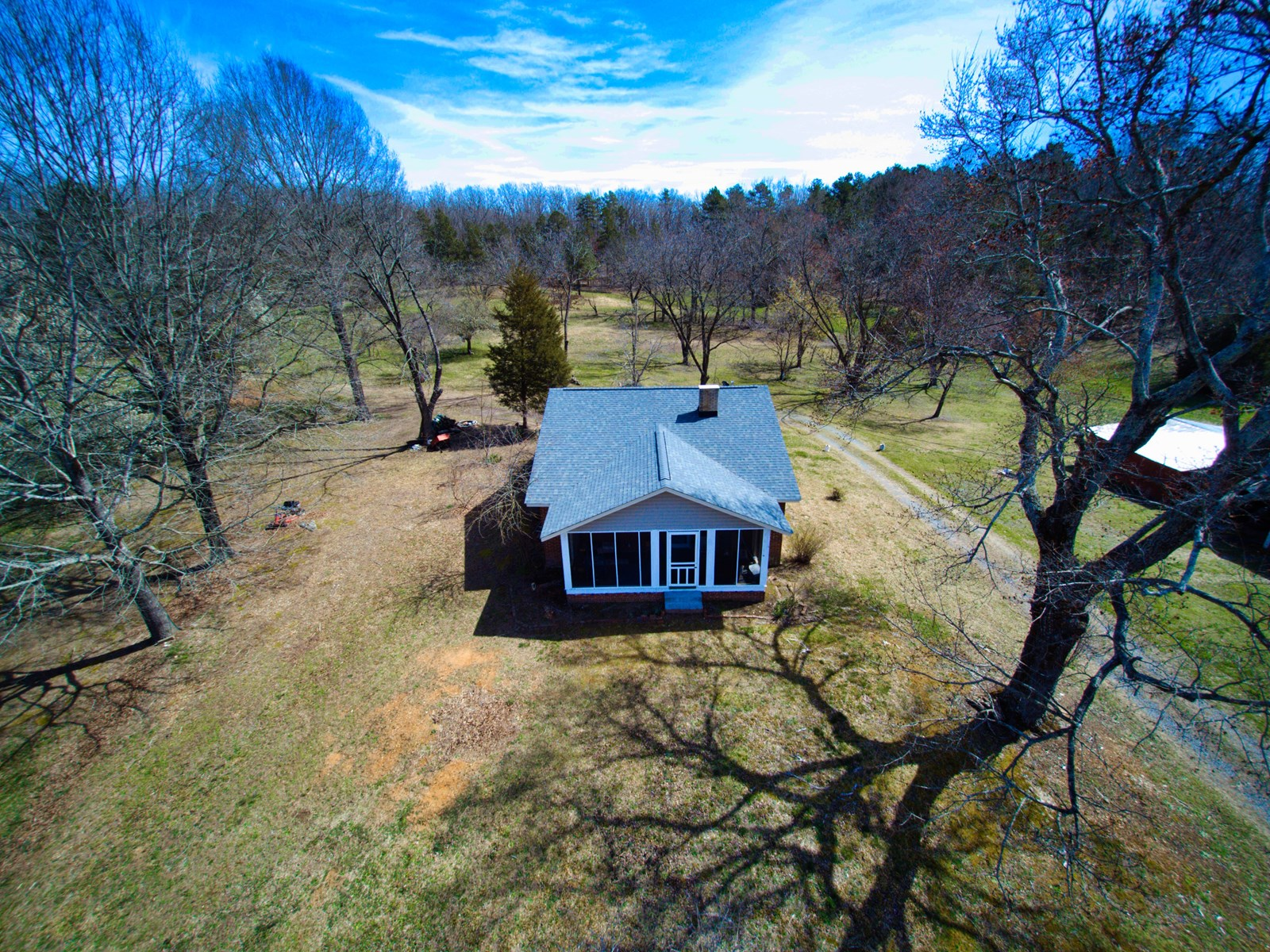 Country Farmhouse with Acreage For Sale in Stanly County NC