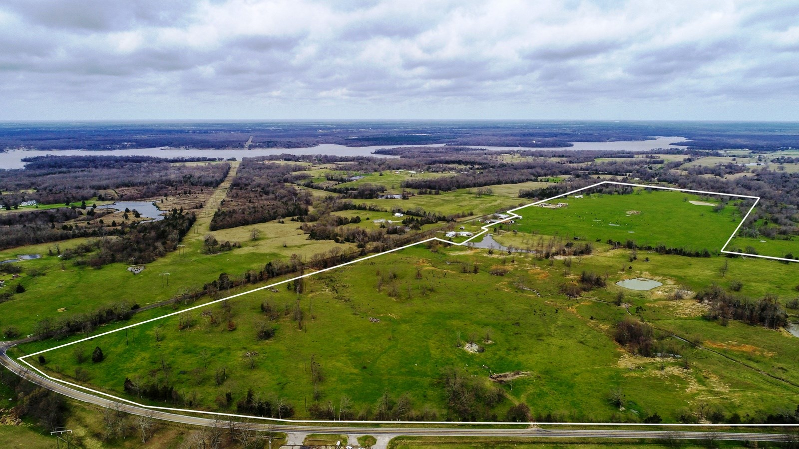 ALMOST 300 EAST TEXAS ACRES FOR SALE IN YANTIS, TEXAS