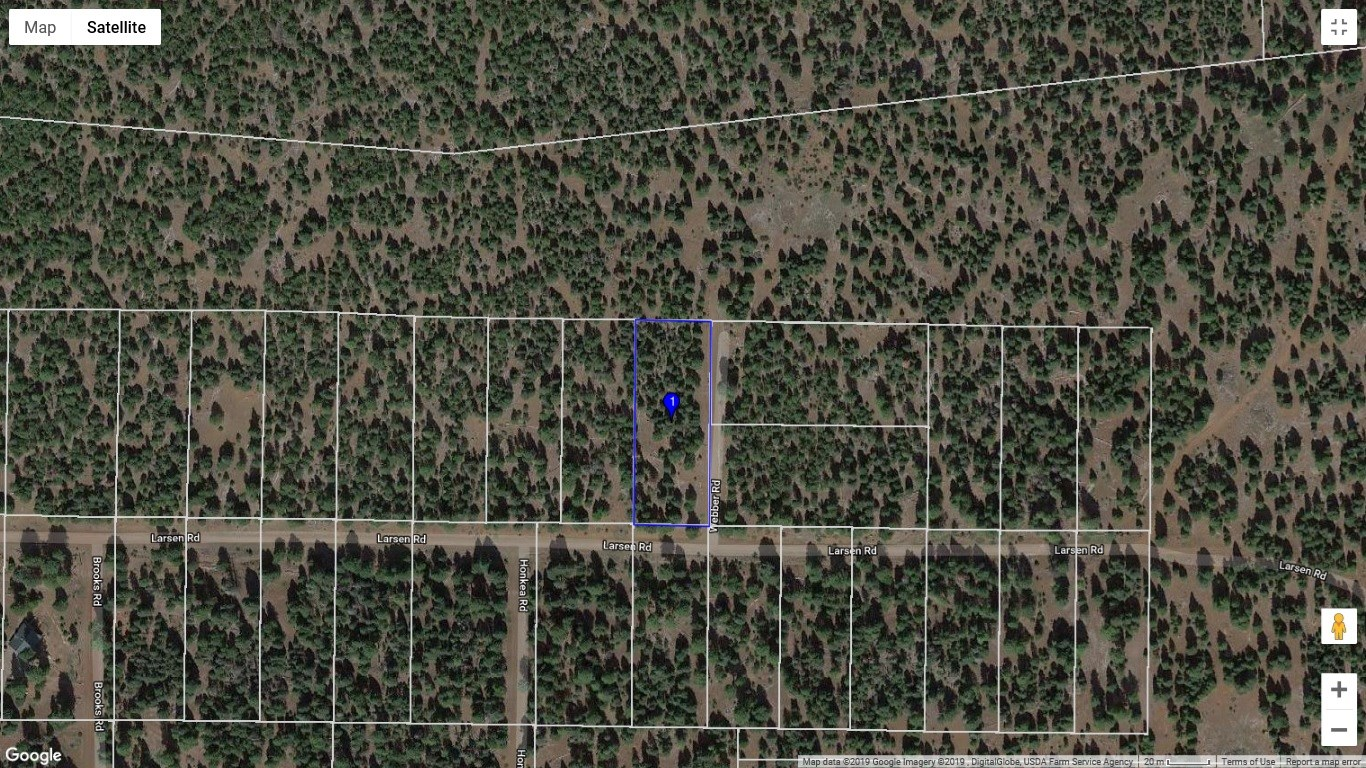 .95 acre lot in rural Modoc County, Northern California