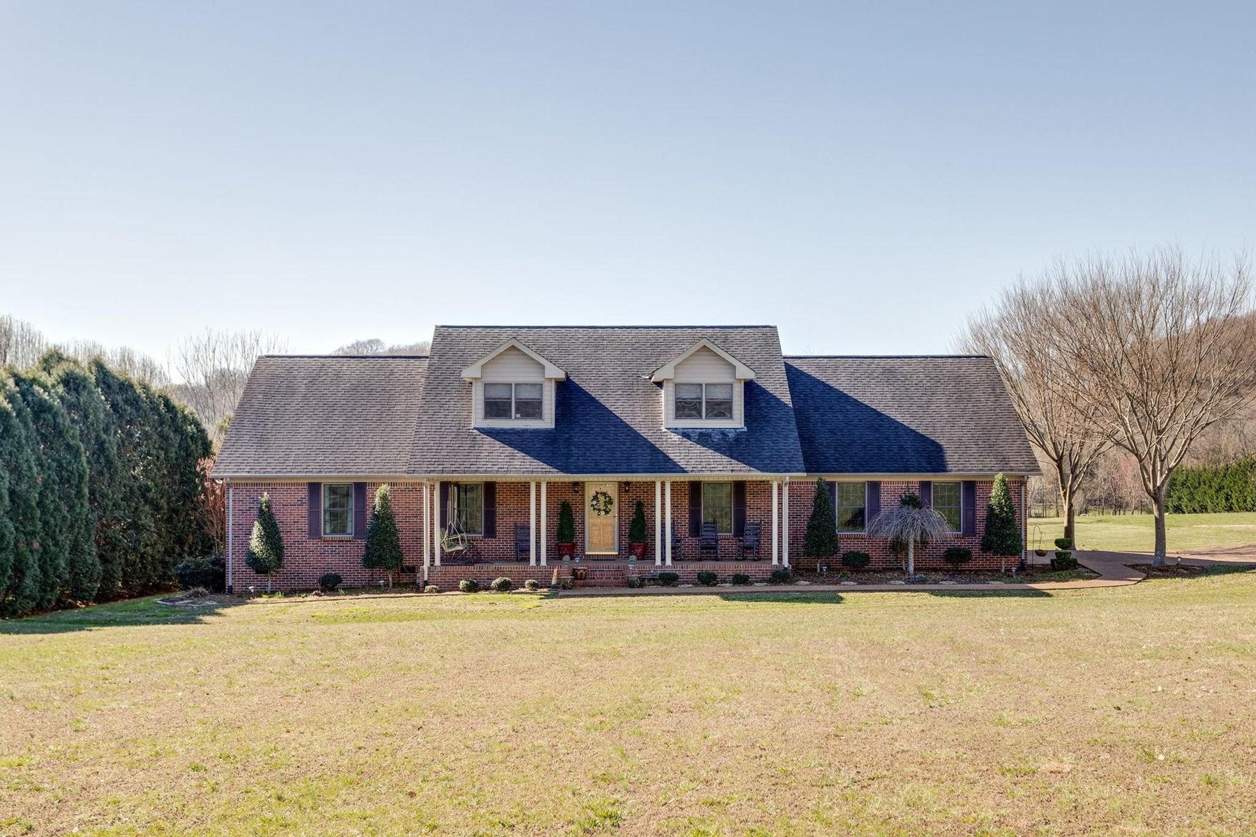 Country home w/ acreage, Maury County, Culleoka, TN