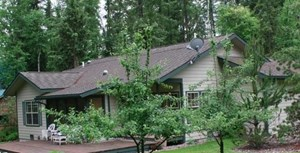 CABIN IN WHITEFISH, MONTANA RECREATION AREA FOR SALE