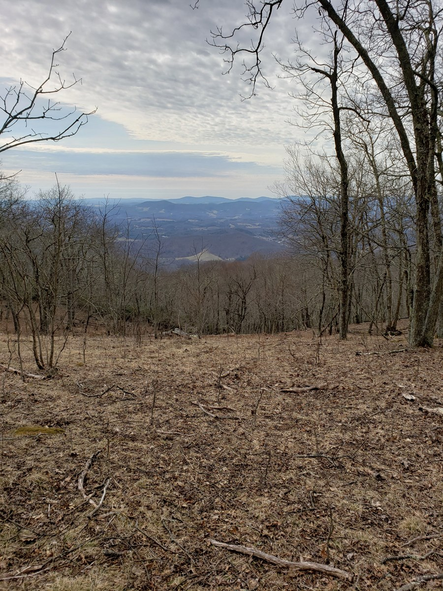 Long Range View w/ Southern Exposure.