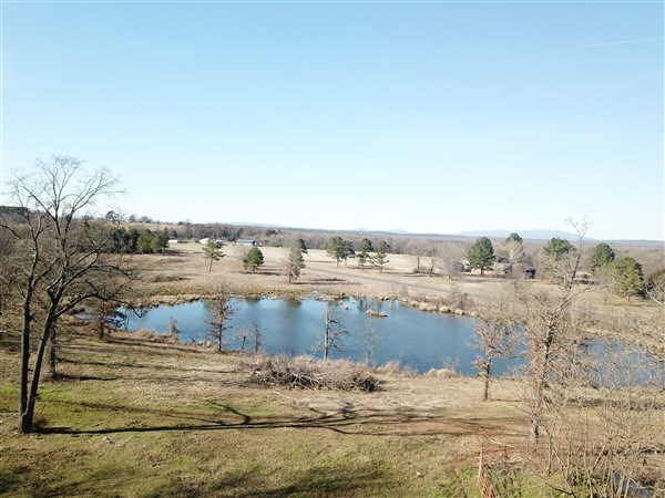 OKLAHOMA LAND FOR SALE WITH SMALL LAKE