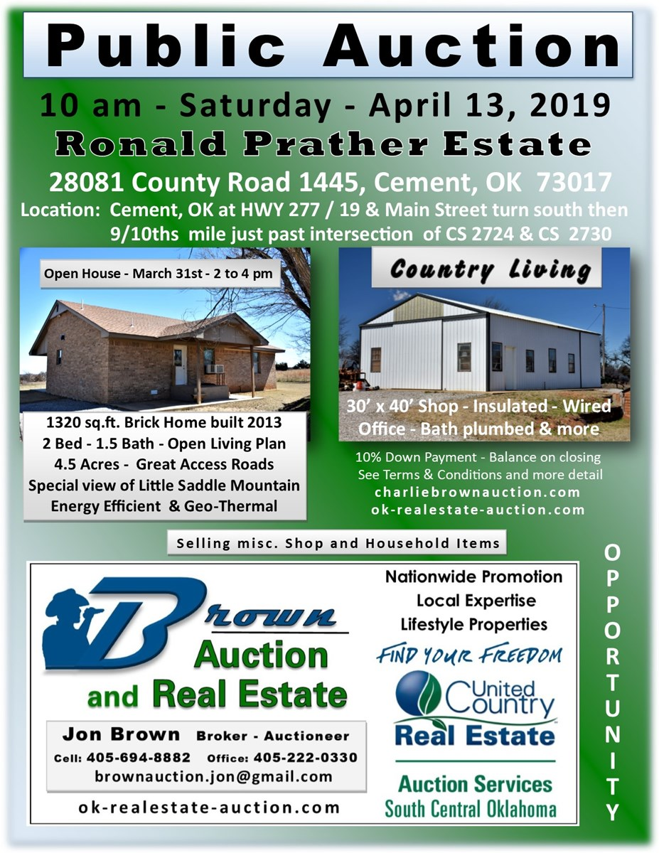 Ronald Prather Estate Auction