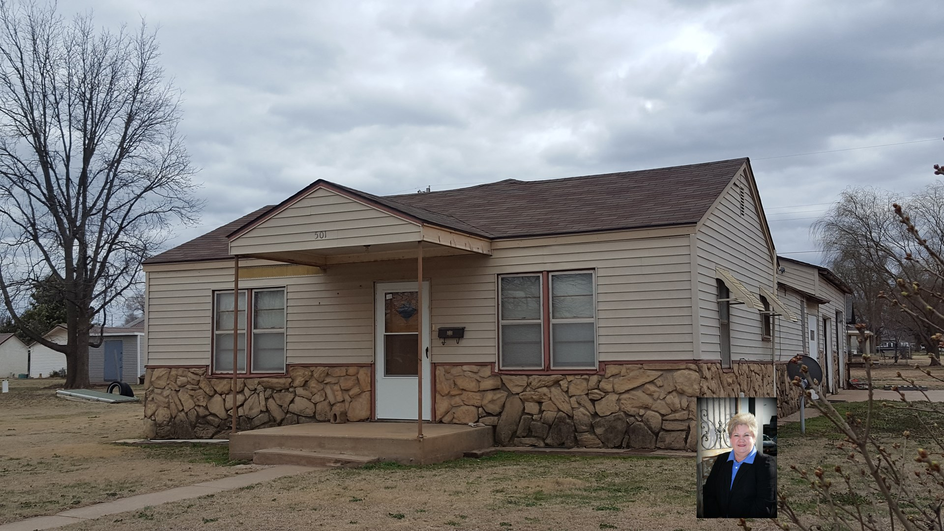 3 Bedroom home with oversized garage in Alva, OK