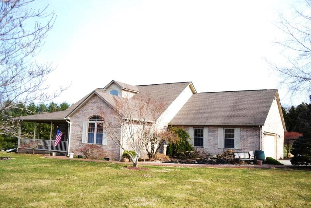 3 bedroom brick home on 6+ acres in Rural Retreat, VA