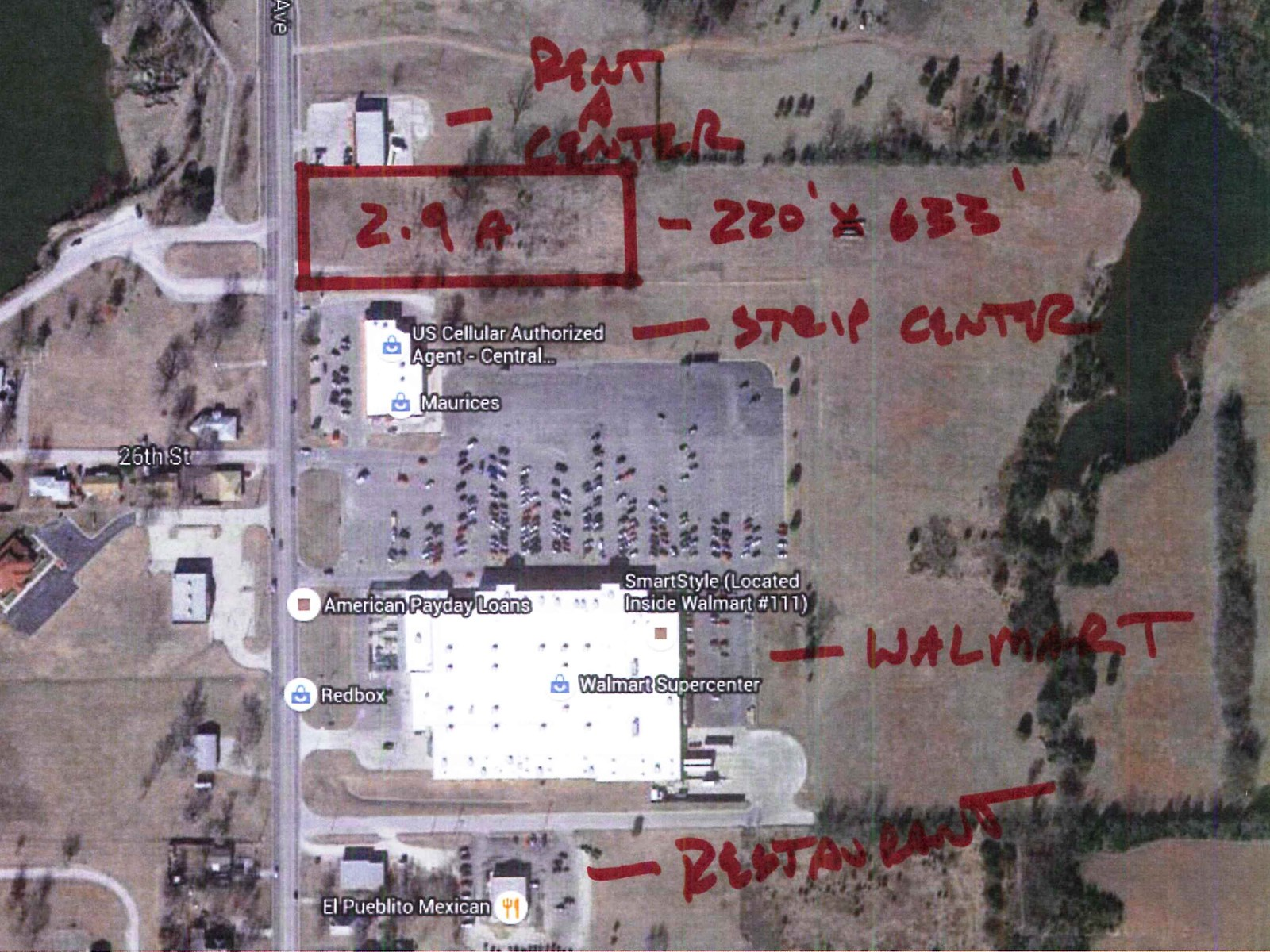 Commercial Land for Sale in Chanute Kansas