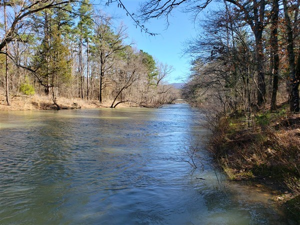LAND BOUNDING  Kiamichi RIVER & NATIONAL FOREST FOR SALE